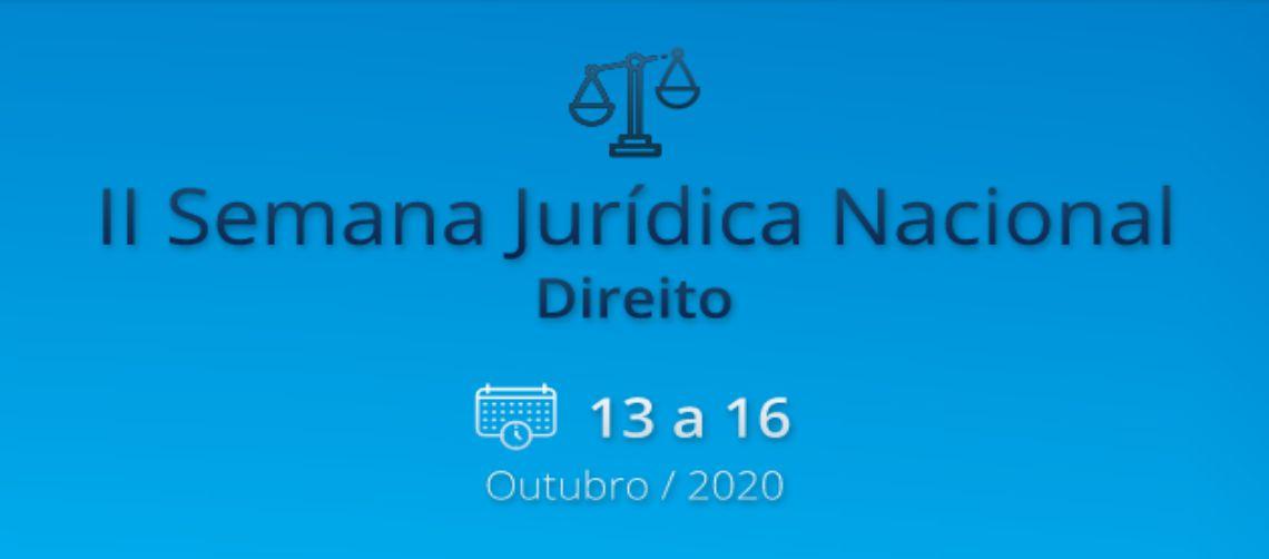 II SEMANA JURÍDICA NACIONAL DOS CURSOS DE DIREITO DA KROTON