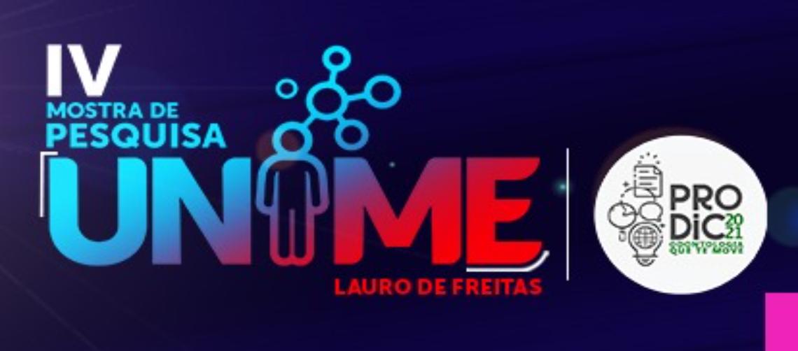 IV MOSTRA DE PESQUISA UNIME LAURO DE FREITAS